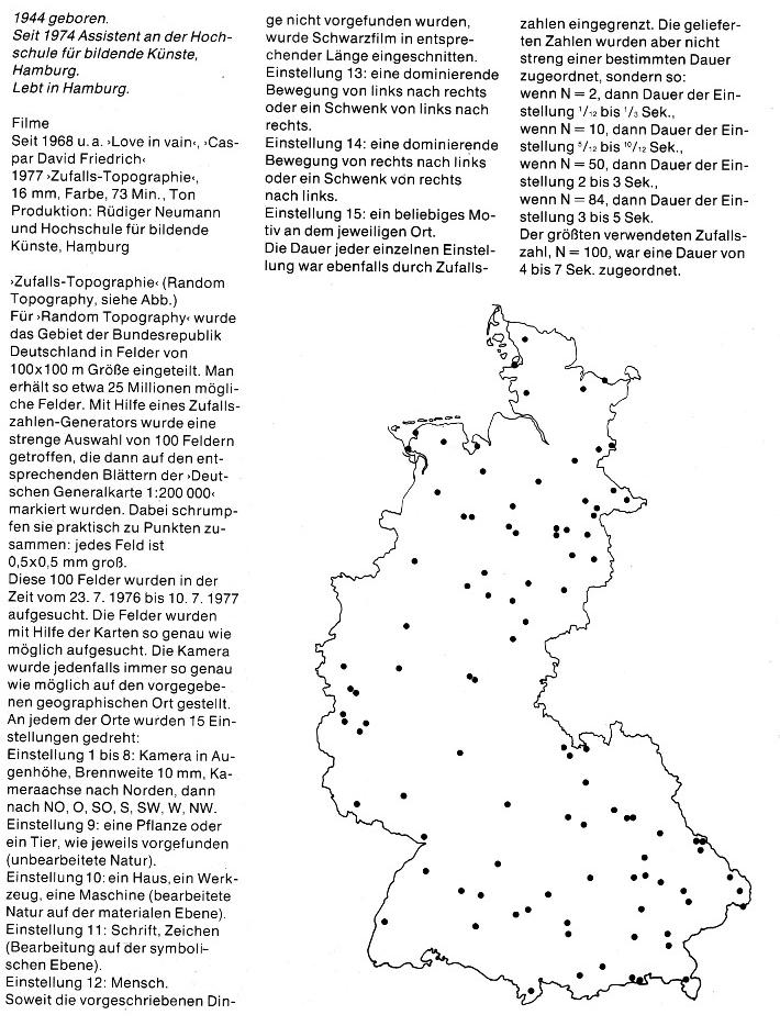 Rüdiger Neumann: Zufallstopographie