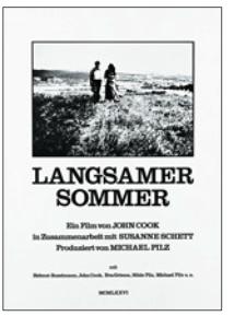 Die letzte Sequenz des Films von vor vier Jahren... Initiiert durch die Bewegung aus dem Hof heraus. Die Landschaft einer möglichen Verführung.