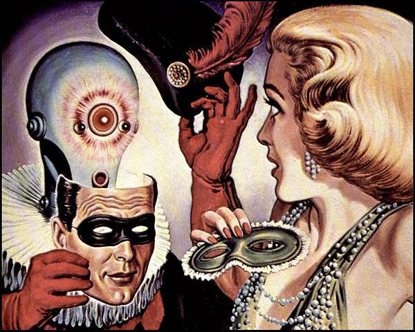 1958 Virgil Finlay fantastic universe