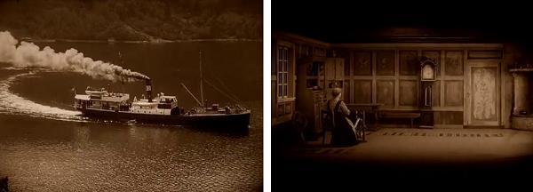 Brudeferden i Hardanger (1926 Rasmus Breistein)