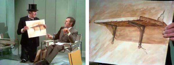Tommy Cooper - A shelve portrait