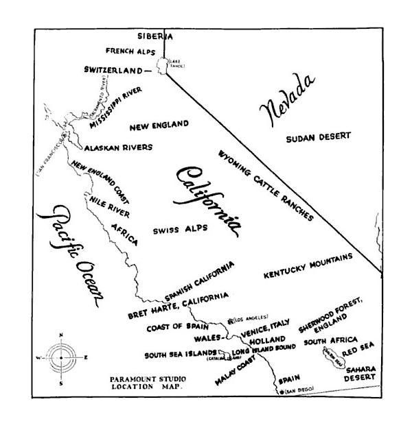 1927 california movie locations