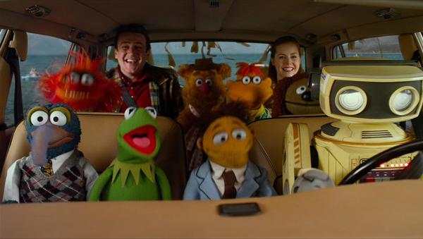 The Muppets - travel by map e