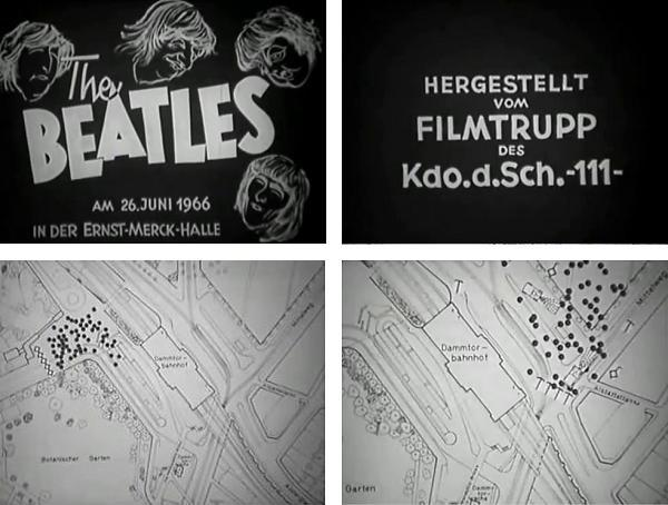 1966 - The Beatles, Hamburg, Polizeischulungsfilm