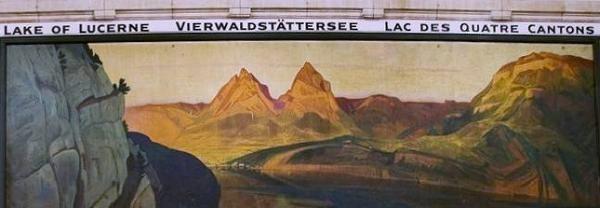 Ernst Hodel Basel Bahnhof